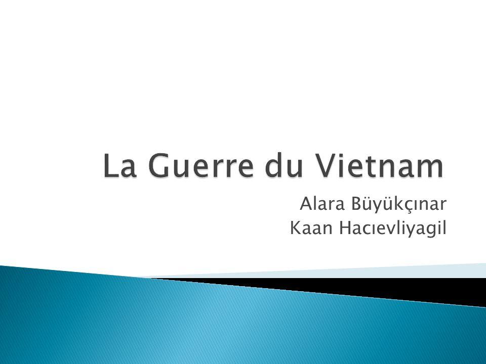 La Guerre du Vietnam est une guerre entre le nord vietnam (communiste) contre le sud vietnam (anti-communiste).