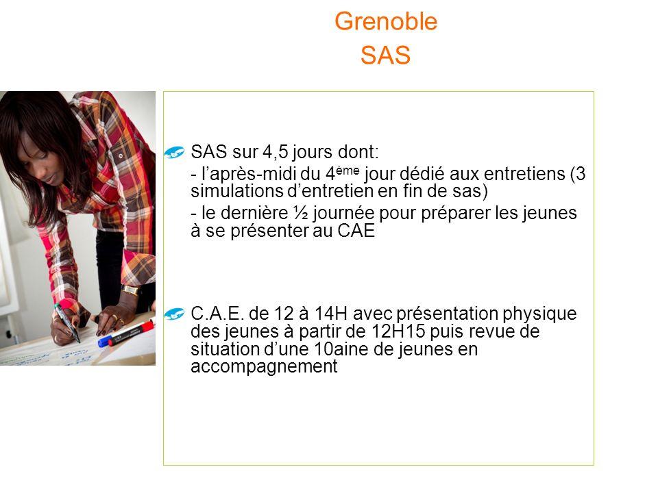 - Un public large identifié par Mission Locale, Pôle Emploi, Service Initiatives Emploi Ville de Grenoble. - Co-Animation de type « coaching collectif