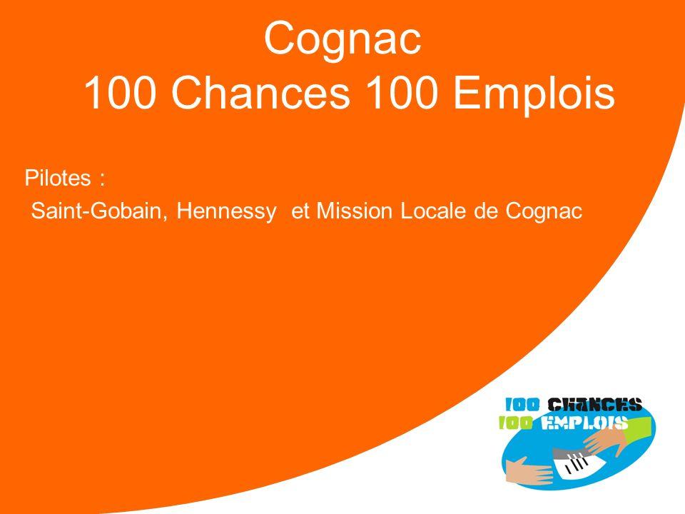 100 Chances 100 Emplois 21 -Réunion Nationale le 11/04/2013 Forces : Une mobilisation réelle dun noyau de 10 entreprises et de la Mission Locale La pr