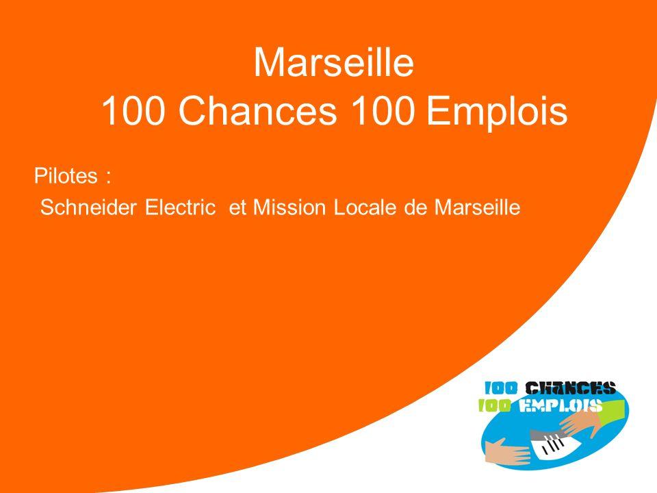 100 Chances 100 Emplois 40 -Réunion Nationale le 11/04/2013 Forces : Un soutien indéfectible de la Ville et de la DIRECCTE Une mobilisation de la Miss