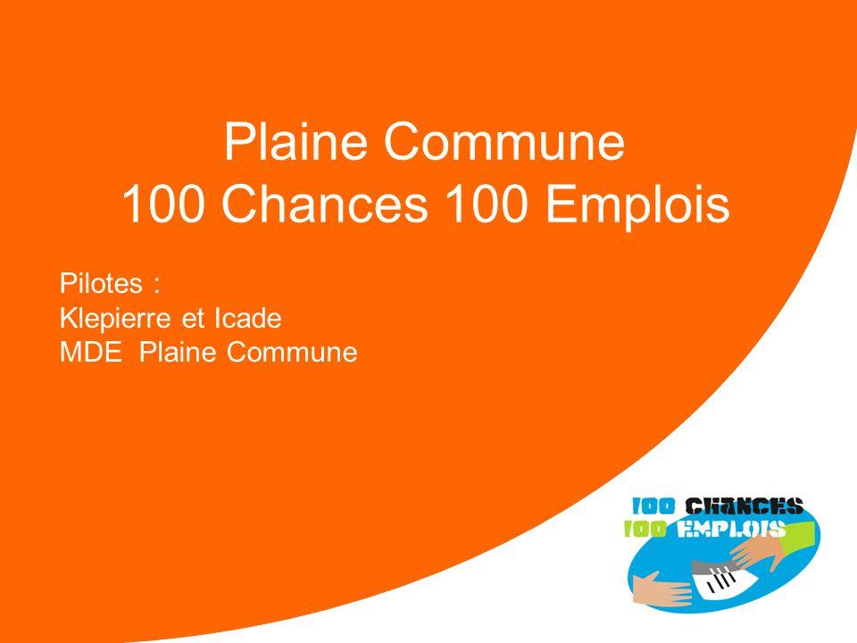 100 Chances 100 Emplois 65 -Réunion Nationale le 11/04/2013 Forces : Un soutien de la DIRECCTE Une mobilisation réelle dun noyau de 8 entreprises Diff