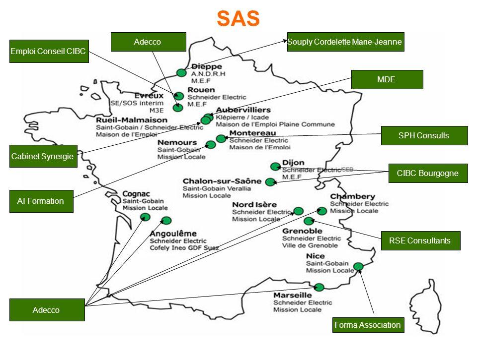 RSE Consultants Adecco CIBC Bourgogne Emploi Conseil CIBC Forma Association AI Formation Cabinet Synergie SPH Consults MDE Souply Cordelette Marie-JeanneAdecco