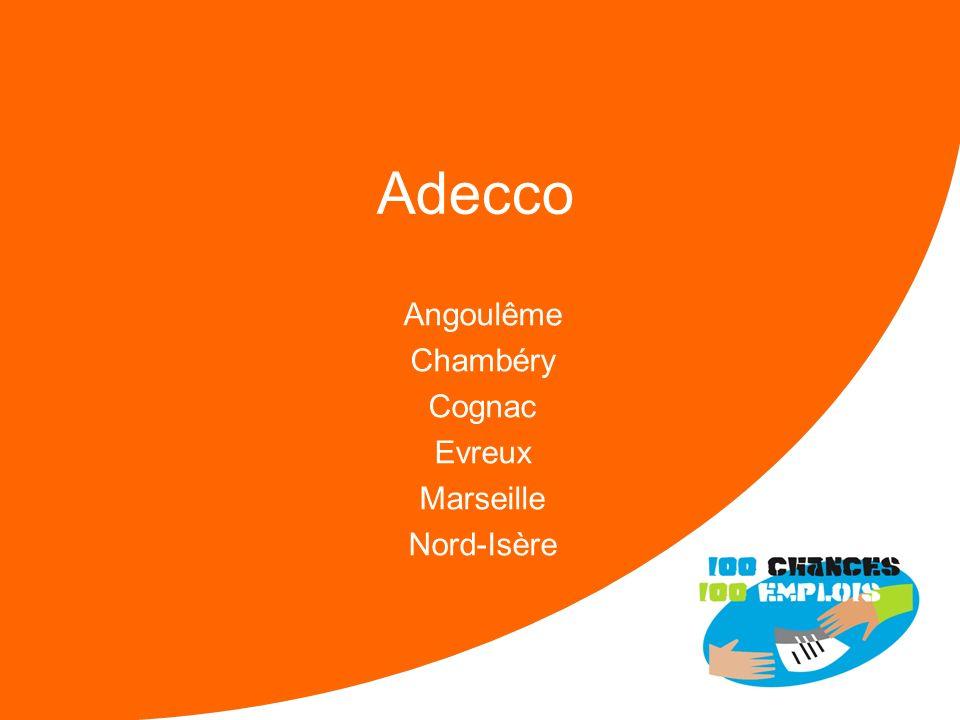 100 Chances 100 Emplois 80 -Réunion Nationale le 11/04/2013 2012 500 Entrées pour 68 SAS Moyenne Candidats / SAS = 7 2013 600 Entrées pour 70 SAS Si m