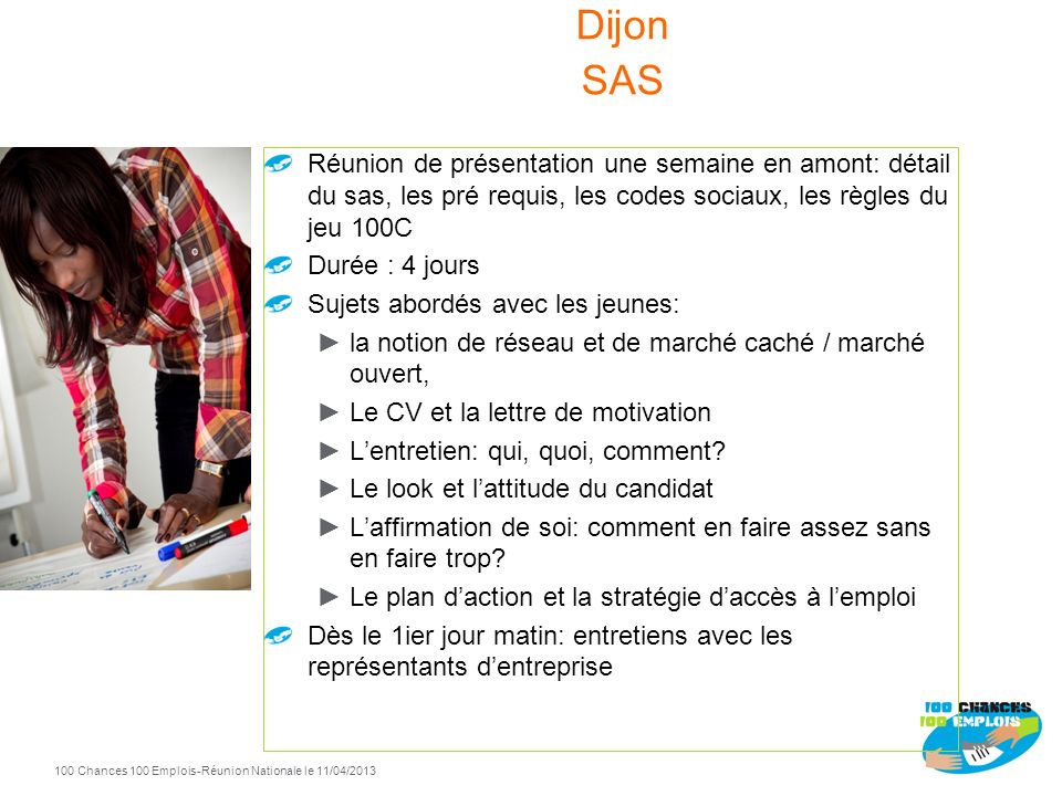 Spécificités SAS Dijon