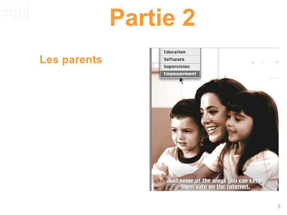 19 La spécificité du Royaume-Uni Base : parents europ é ens dont un enfant utilise internet.