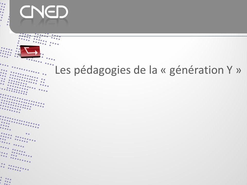 Les pédagogies de la « génération Y »