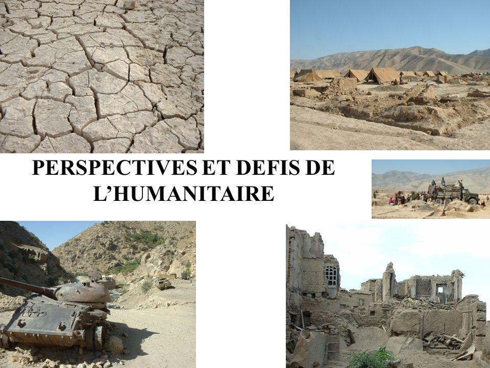 PERSPECTIVES ET DEFIS DE LHUMANITAIRE