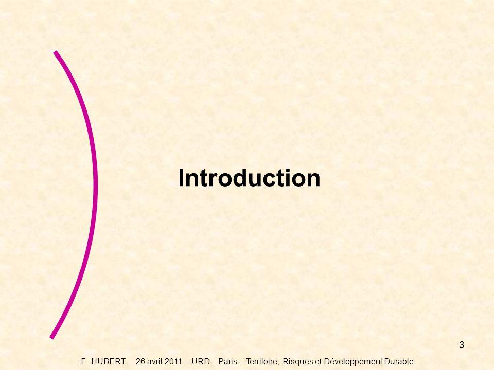 4 Introduction « La société du risque zéro… » - une utopie arrogante, pleine dillusion et surtout une vision à court terme… - Explosion démographique ( 3,5 milliards dindividus en 1967 */ 7 milliards avant 2015 ), - Dérèglement climatique, - Crises énergétique et des matières premières… Tout nous pousse vers : - rajouter de lincertitude à laléatoire, - une multiplication des événements à « caractère exceptionnel », - laugmentation du nombre des victimes et des coûts liés aux catastrophes.