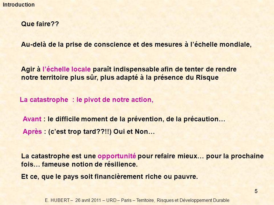 5 Introduction Que faire?.