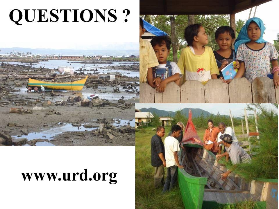 QUESTIONS ? www.urd.org