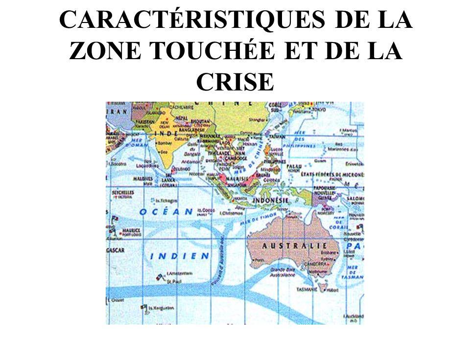 CARACT É RISTIQUES DE LA ZONE TOUCH É E ET DE LA CRISE