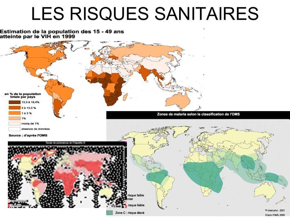 LES RISQUES SANITAIRES