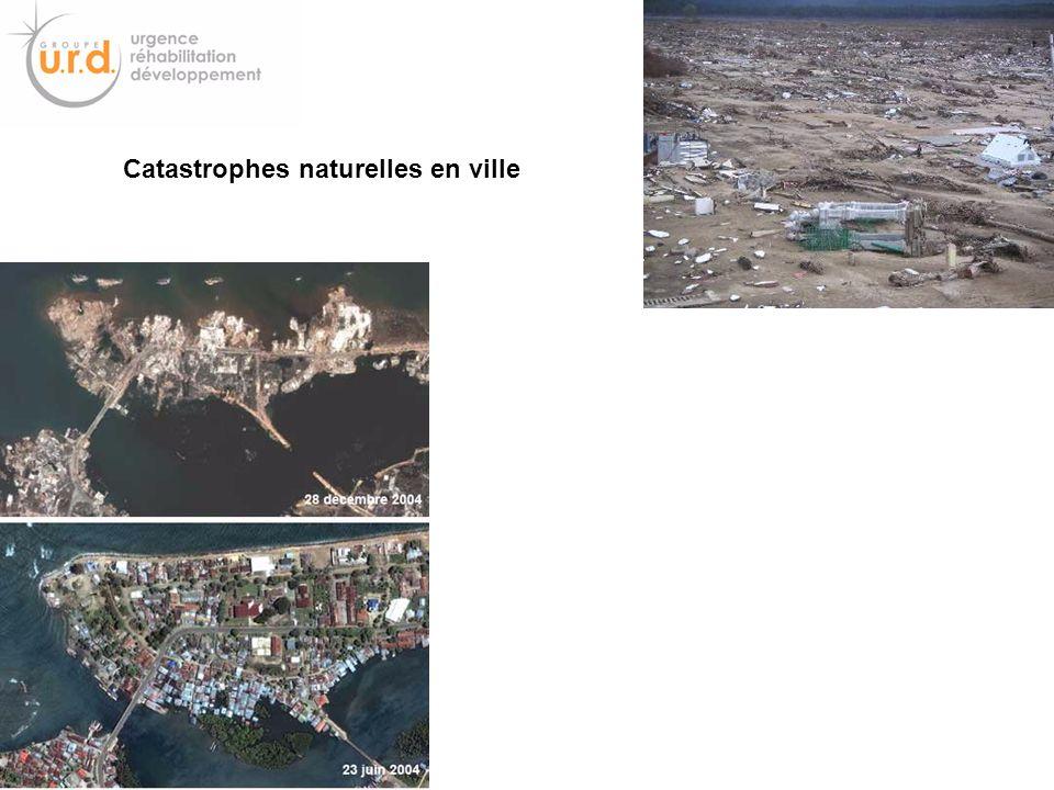 Catastrophes naturelles en ville