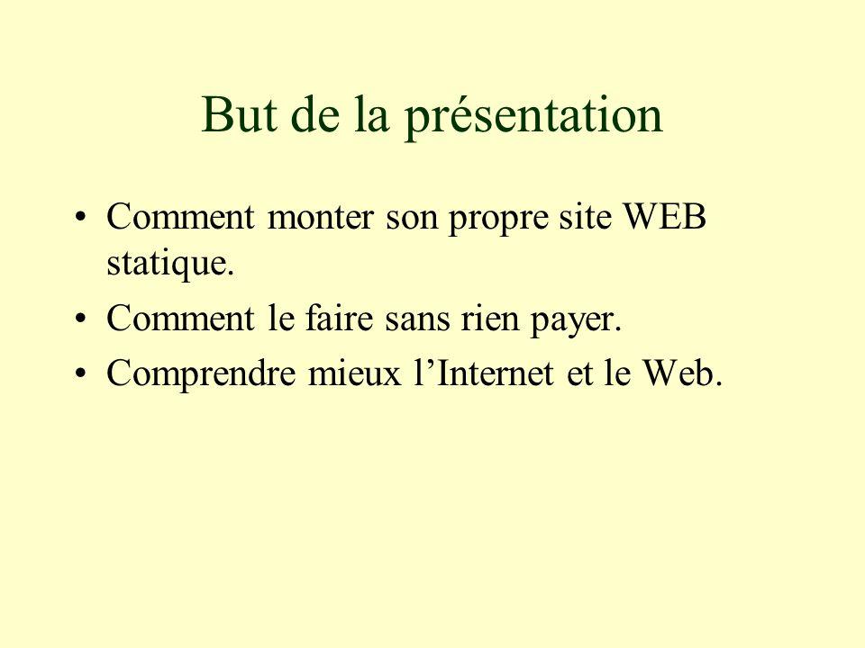 Pourquoi construire son propre site Web.