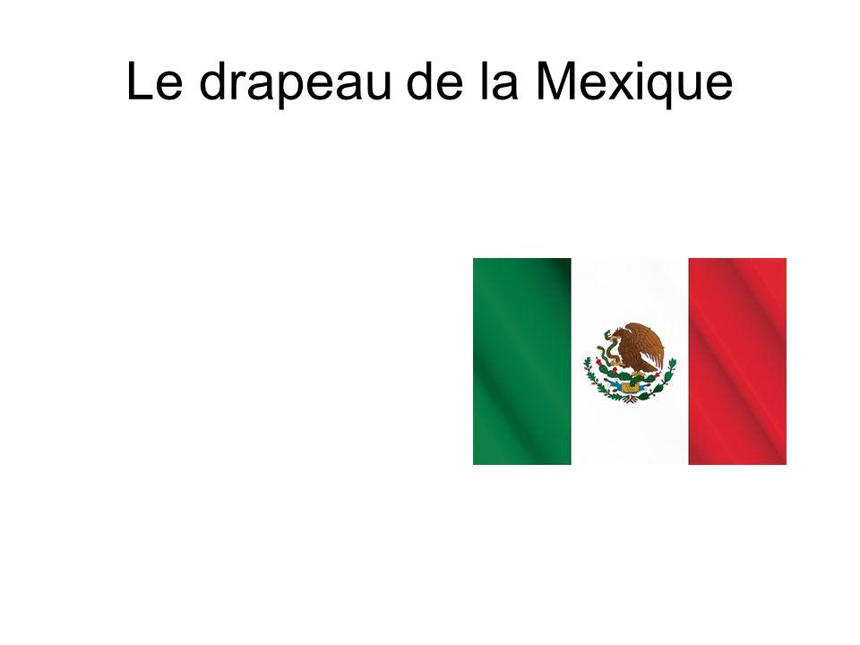 Le drapeau de la Mexique