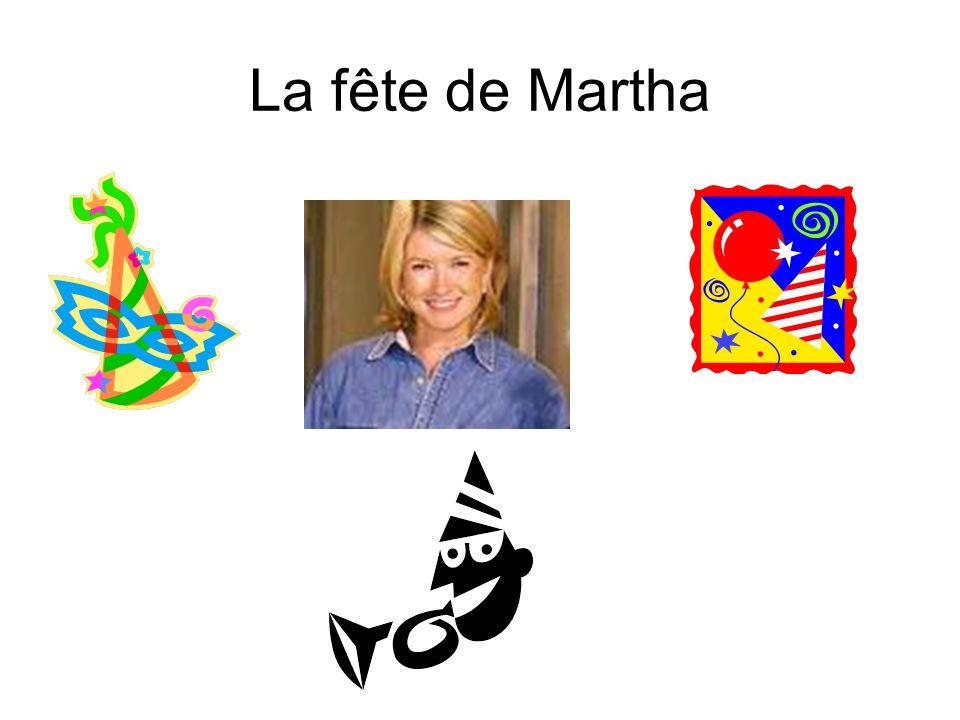 La fête de Martha