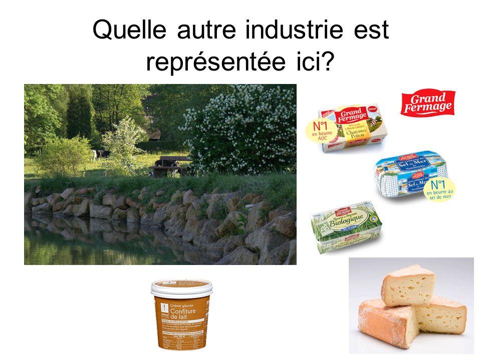 Quelle autre industrie est représentée ici?