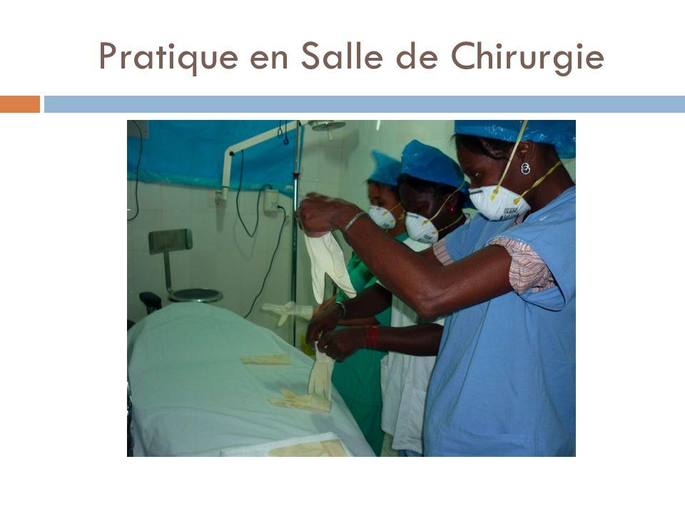Pratique en Salle de Chirurgie