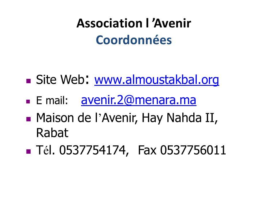 Merci de votre écoute et votre soutien aux enfants malades AA L Avenir