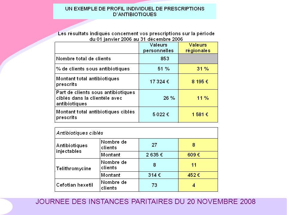 JOURNEE DES INSTANCES PARITAIRES DU 20 NOVEMBRE 2008
