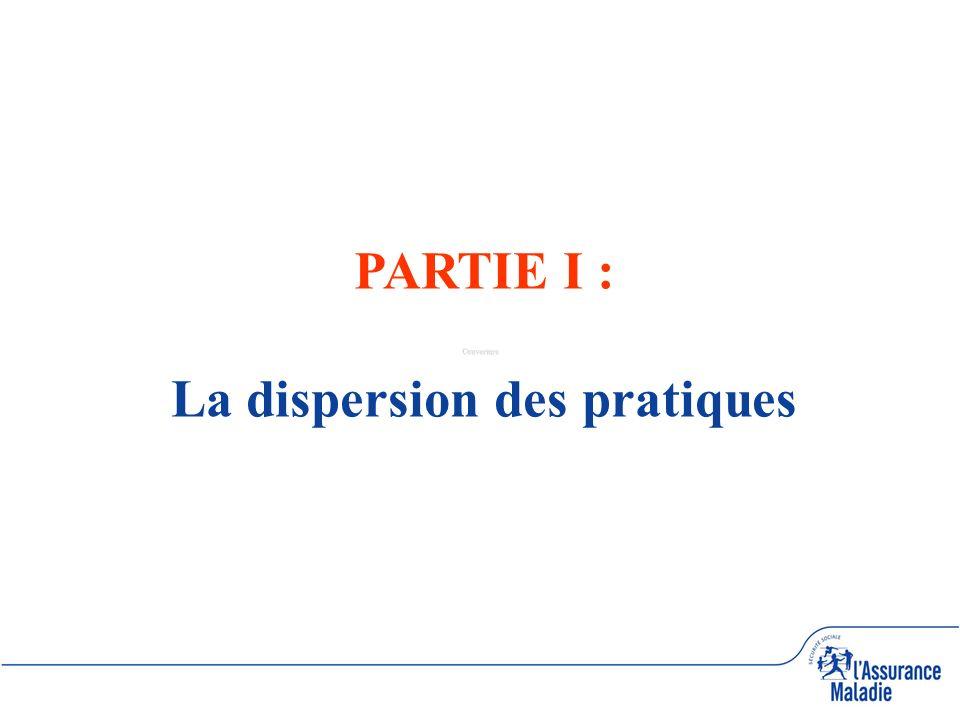 Couverture PARTIE I : La dispersion des pratiques