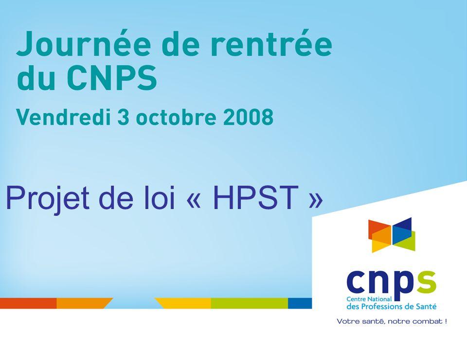 Projet de loi « HPST »
