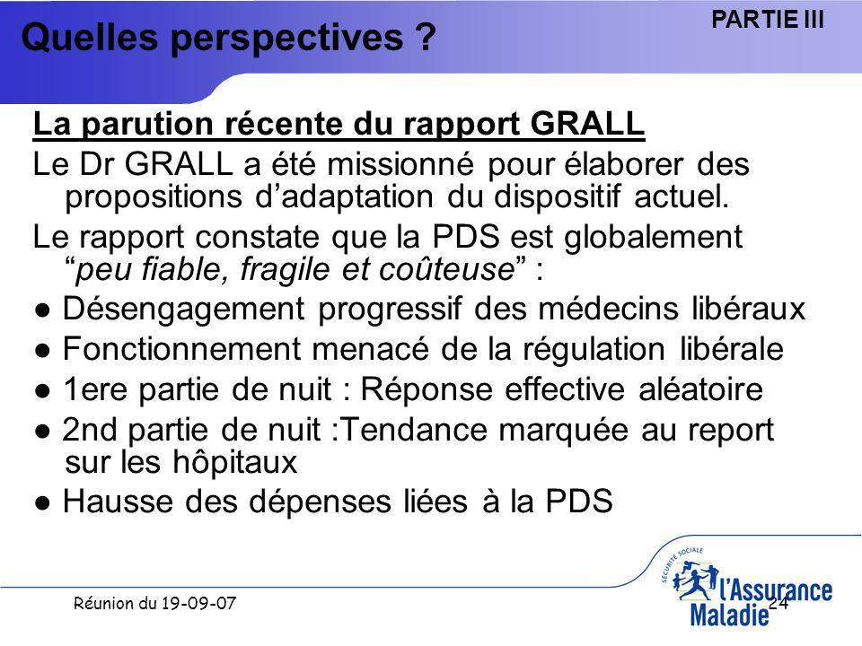 Réunion du 19-09-0724 Quelles perspectives .