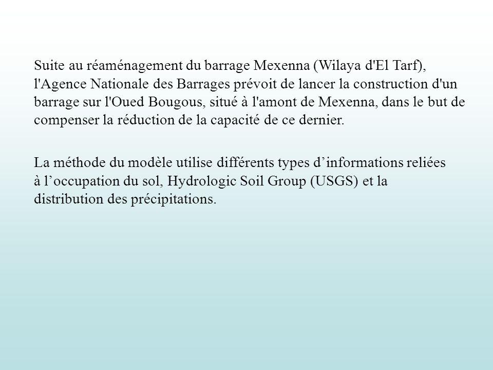 Suite au réaménagement du barrage Mexenna (Wilaya d'El Tarf), l'Agence Nationale des Barrages prévoit de lancer la construction d'un barrage sur l'Oue