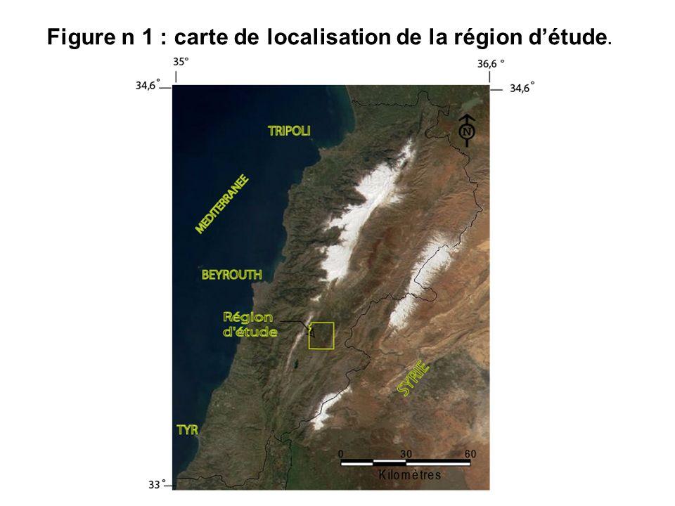 Figure n 1 : carte de localisation de la région détude.