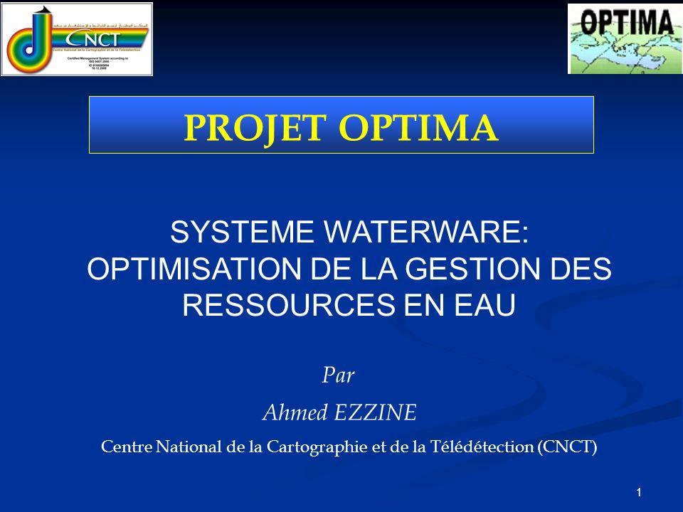 2 SOMMAIRE OBJECTIFS ET MÉTHODOLOGIE CONCLUSION PRODUITS / REALISATIONS INTRODUCTION SYSTEME WATERWARE (RRM et WRM models)