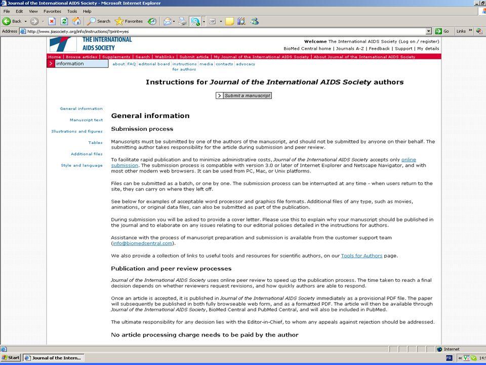 www.jiasociety.org Journal of the International AIDS Society