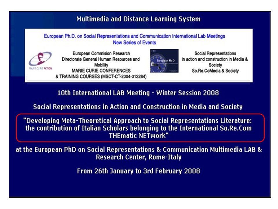 Prochains International Lab Meeting (pour des doctorants)