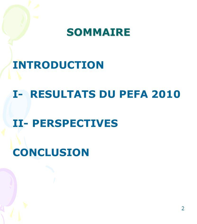 CONCLUSION Les résultats contenues dans les rapports de ces évaluations périodiques demeurent sans doute un fonds commun dinformations facilitant davantage le dialogue entre le Gouvernement du Mali et les PTF, dune part, et entre les PTF eux- mêmes, dautre part.
