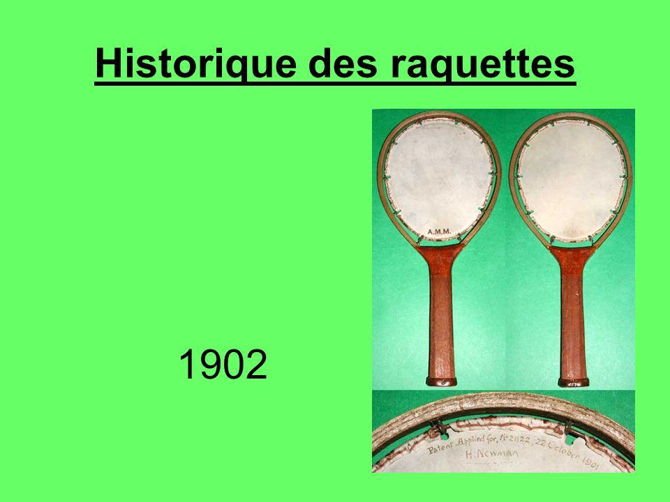 Historique des raquettes 1902