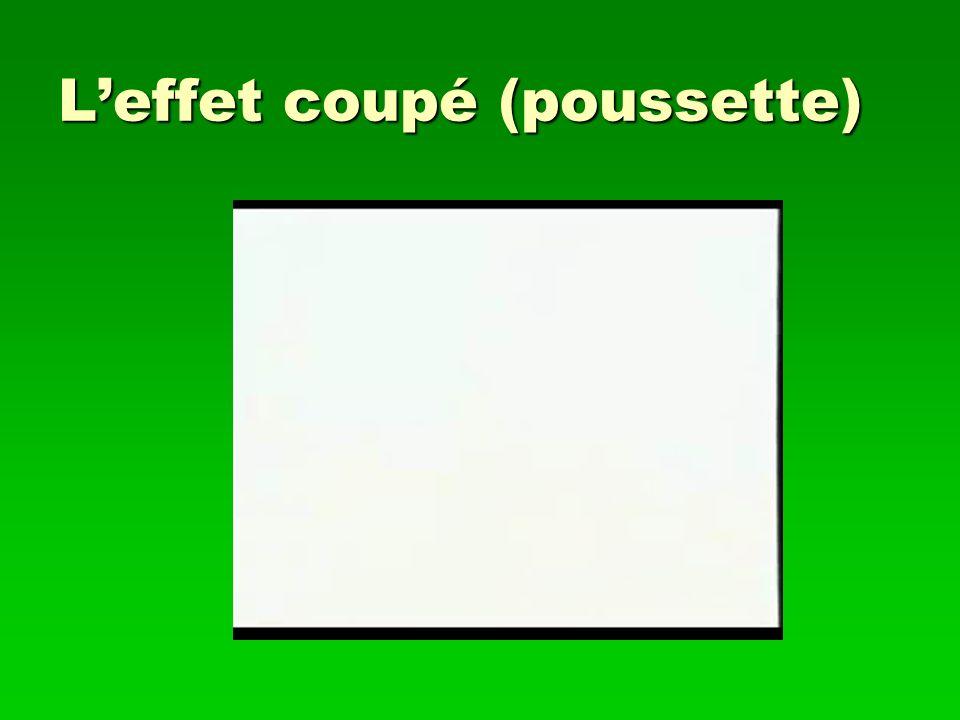 Leffet coupé (poussette)