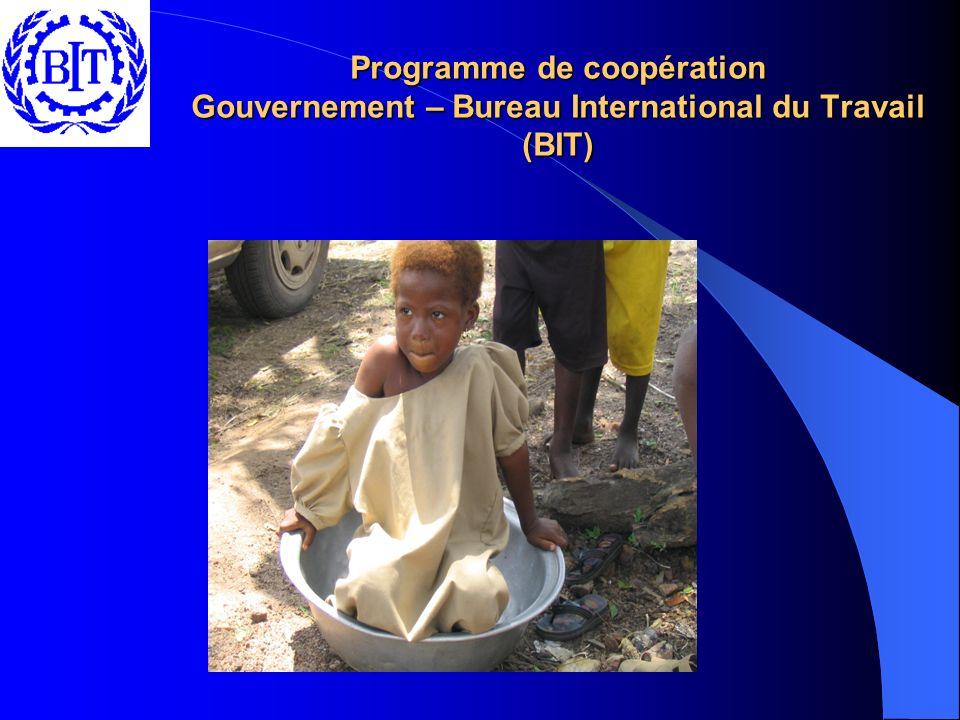 Programme de coopération Gouvernement – Bureau International du Travail (BIT)