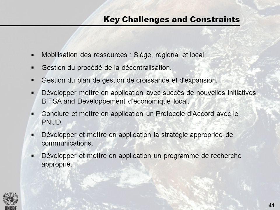40 Sassurer que les collectivités/autorités locales et les IMF participent adéquatement au financement de toutes les activités.