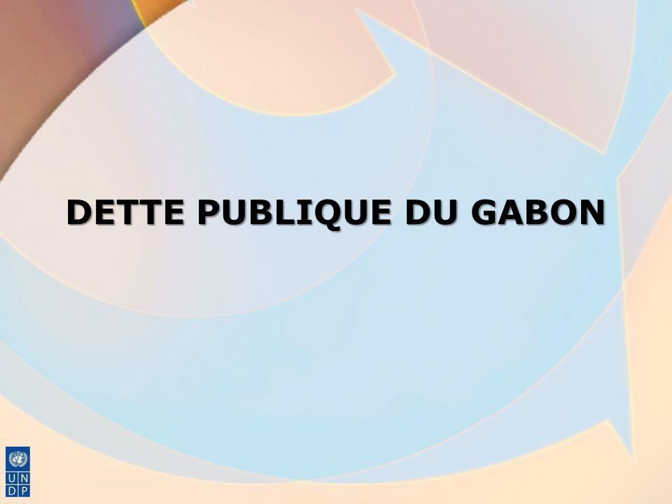 DETTE PUBLIQUE DU GABON
