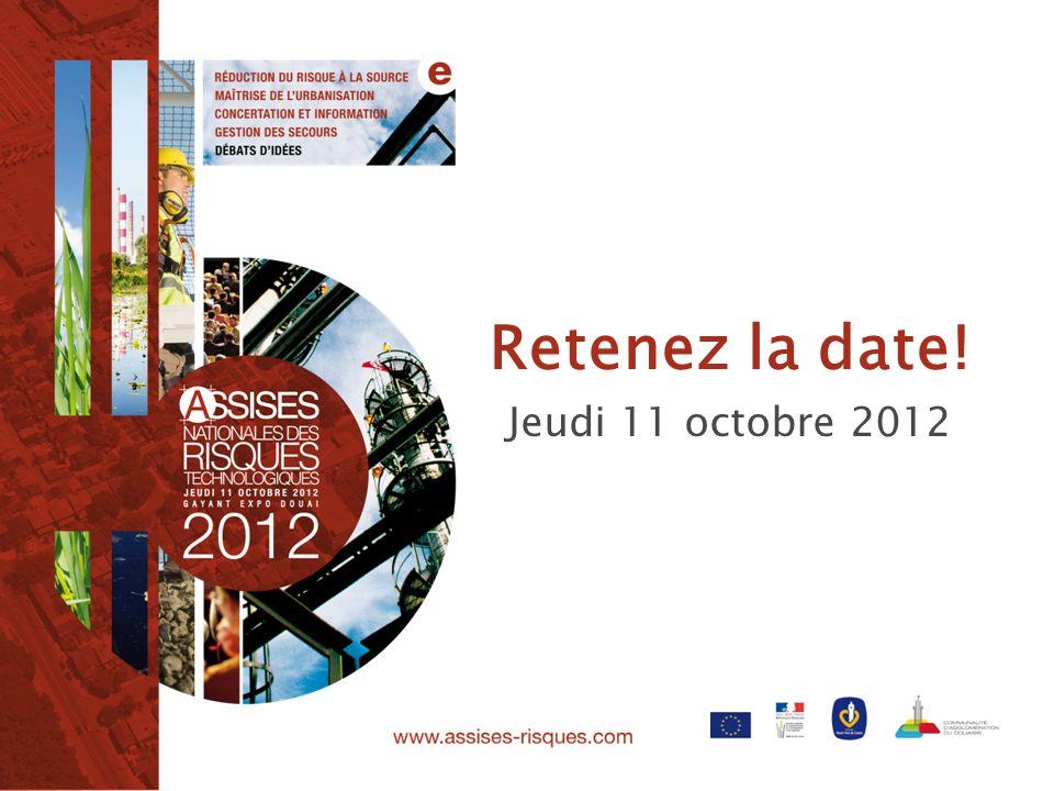 Retenez la date! Jeudi 11 octobre 2012