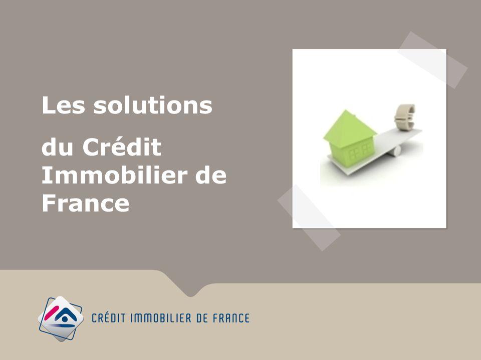 Les solutions du Crédit Immobilier de France