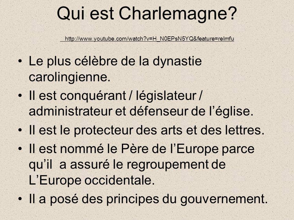 Qui est Charlemagne.