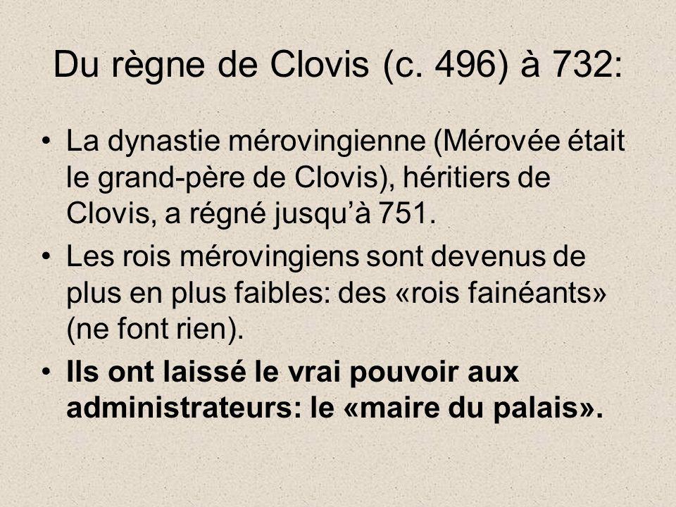 Du règne de Clovis (c.