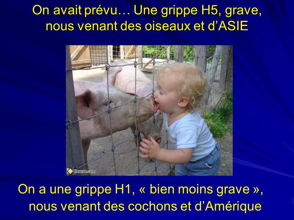 Contre-Indications à la Vaccination Antigrippale A(H1N1)v Contre-indications : –Antécédent de réaction anaphylactique à lun des constituants du vaccin ou à des résidus à létat de traces Oeuf, protéines de poulet, ovalbumine.