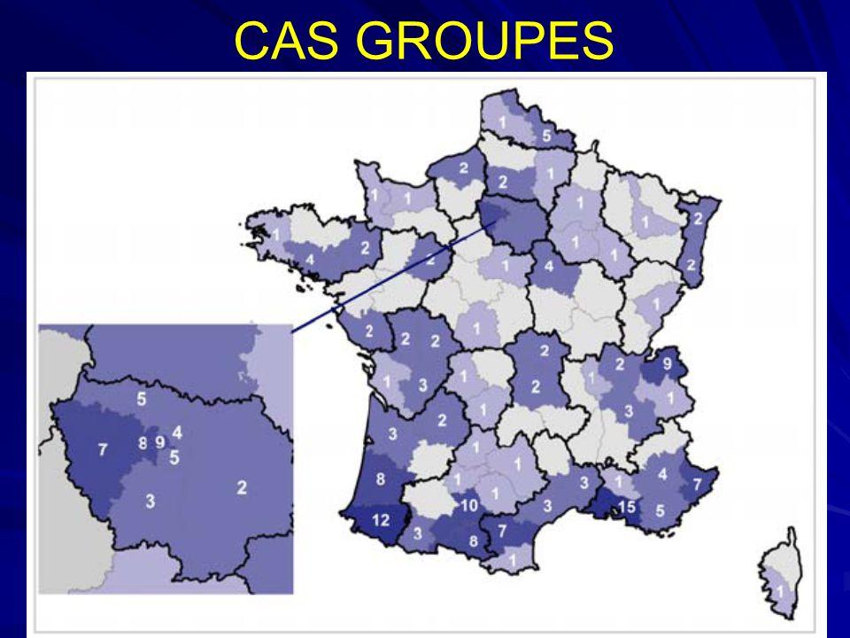 CAS GROUPES