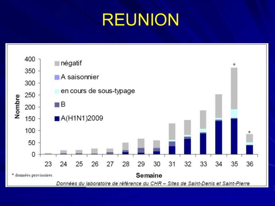 Point de situation au 15 septembre 2009 (11h) Dynamique de lépidémie En métropole, la circulation du virus A (H1N1) 2009 sintensifie.