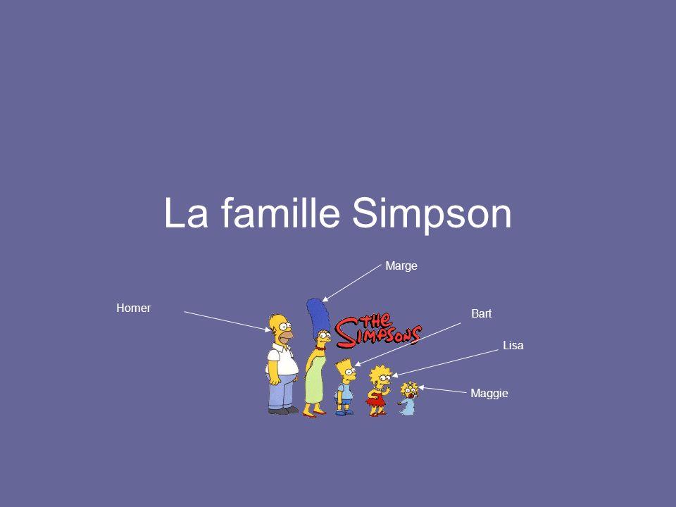 Lisa est plus grande que Maggie.