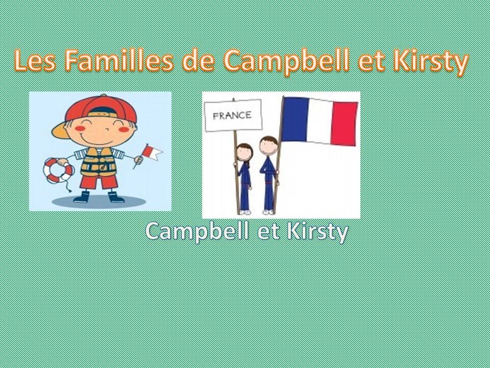 Campbell Bonjour. Je mappelle Campbell. Jai dix ans. J habite à Aberlady.