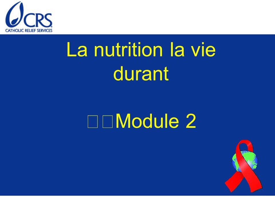 Nutrition pour les adultes (de 19 à 59 ans) Les adultes ont besoin d une alimentation équilibrée sur le plan nutritionnel, notamment des aliments issus de tous les groupes et en quantités suffisantes.
