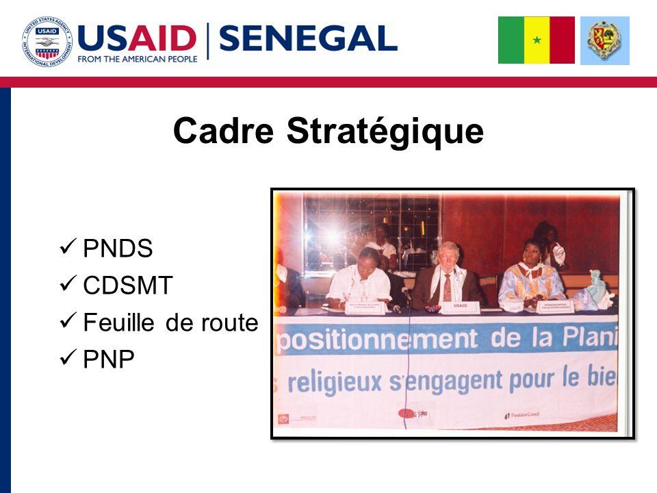 Cadre Stratégique PNDS CDSMT Feuille de route PNP