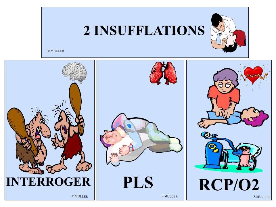 PLS R.MULLER RCP/O2 INTERROGER 2 INSUFFLATIONS R.MULLER